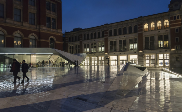 Wates Group built the extension to the Victoria & Albert Museum in London | Credit: Purple Images