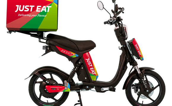 The firm is offering discounts on its Eskuta delivery bikes | Credit: Just Eat