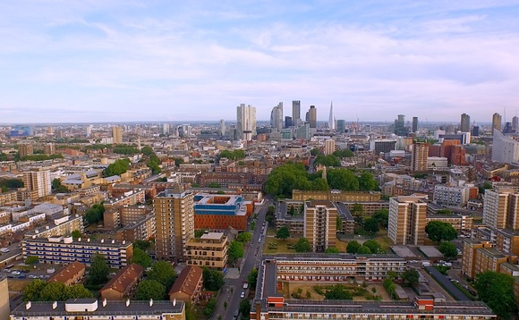 A skyline view of central London from Hackney. Credit: Wikimedia Commons