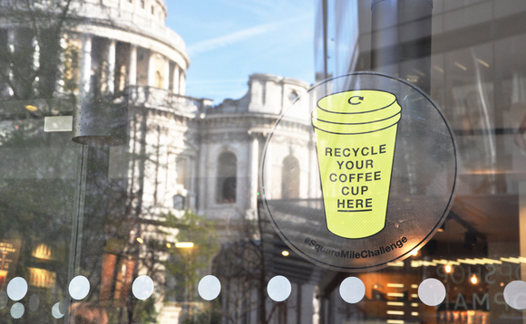 Starbucks and Hubbub launch £1m cup recycling fund