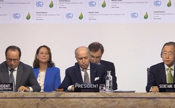 France ratifies Paris Agreement