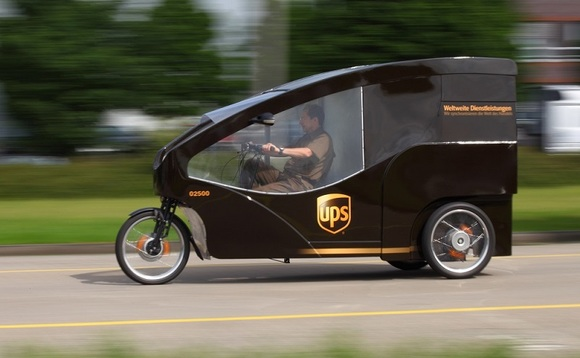 UPS already operates delivery cycles in several European cities | Credit: UPS