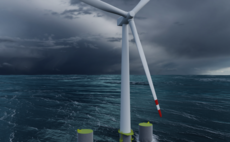 The 10MW turbine will be mounted on a semi-submersible floating concrete structure based on the OO-Star Wind Floater. Credit: Iberdrola