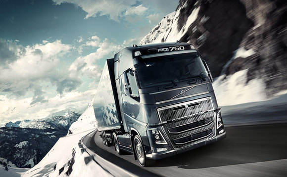 Volvo eco-driving tool helps truckers take their foot off the gas
