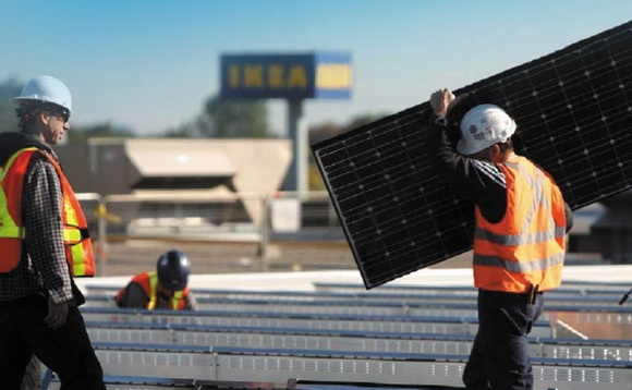 IKEA unpacks 500,000 solar panels in energy independence drive