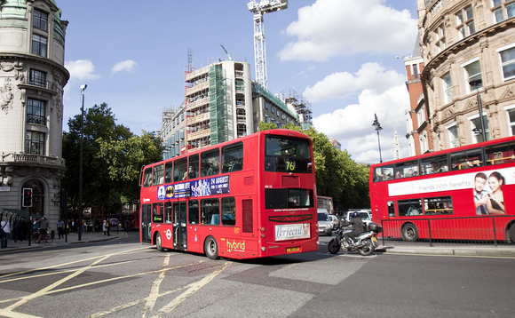 London to upgrade 5,000 buses to Euro VI air quality standard by 2020