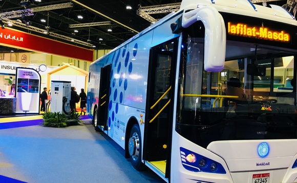 From Abu Dhabi to Colombia, electric buses take to the streets