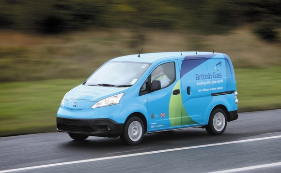 Centrica-owned British Gas has already been using Nissan Leaf electric vans