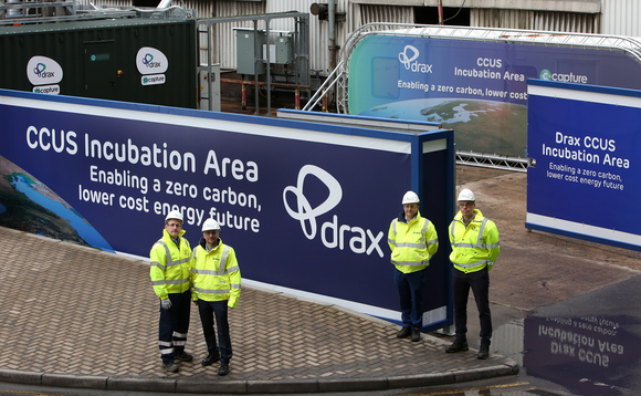 The Humber region includes Drax's power plant in Yorkshire where BECCS technology is being piloted | Credit: Drax