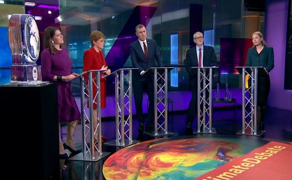 Party leaders debated the best solutions to the climate crisis last night on Channel 4