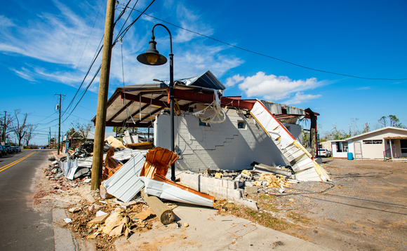 Devastation caused by Hurricane Michael in Florida, October 2018 | Credit: US Department of Housing and Urban Development