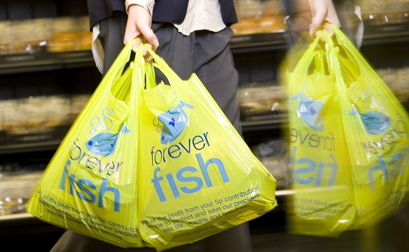 Scotland plans five pence carrier bag levy