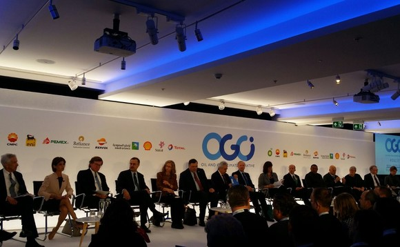 The OGCI panel gather in London this morning | Credit: Incisive Media