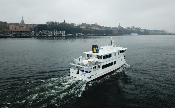 Stockholm first hybrid ice-class passenger ferry | Credit: Robert Levin