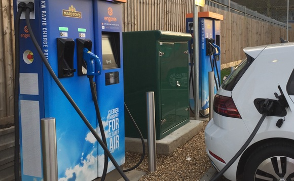 The new chargers expand Engenie's UK network of EV charging infrastructure