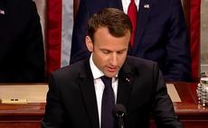 'There is no Planet B': Macron urges US Congress to embrace climate action