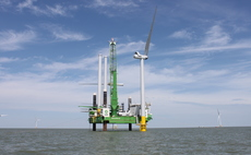 Vattenfall's Kentish Flats wind extension off the coast of Kent | Credit: Vattefall