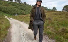 Dressed for success: M&S fashions recycled wool blend suit