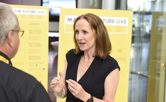 Shell's UK country chair Sinead Lynch