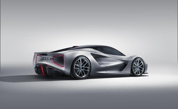 Only 130 all-electric Lotus Evija's will be built. Source: Lotus