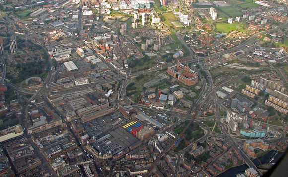 Leeds from above | Credit: Steven Feather