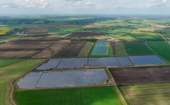 Chittering Solar Park in Cambridgeshire / CREDIT: Lightsource BP