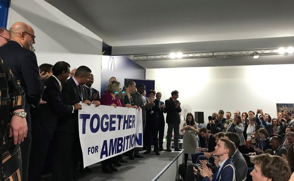 Ministers from the High Ambition Coalition make their final pleas for a robust rulebook | Credit: Incisive Business Media