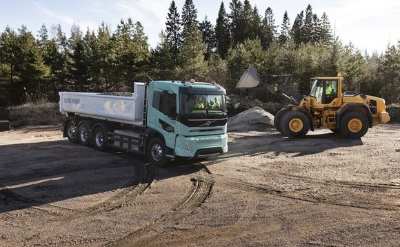 Vovlo Trucks says its electric concept truck could make construction sites cleaner and quieter | Credit: Volvo Trucks
