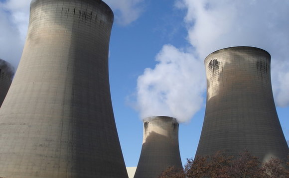 Drax cooling towers in Yorkshire