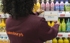 The supermarket said it had now installed 400,000 energy saving fridges across the UK | Credit: Sainsbury's