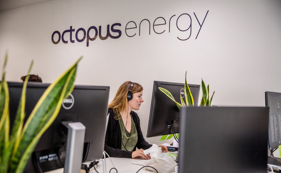 Octopus Energy said it will hire 1,000 new staff across four UK sites