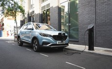 MG revs up first EV model with home charge point partnership