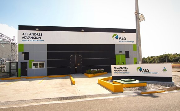 One of the recently-installed battery storage arrays in the Dominican Republic | Credit: AES Energy Storage
