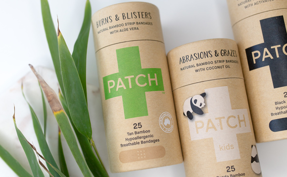Patch plasters are fully compostable and organic | Credit: Patch