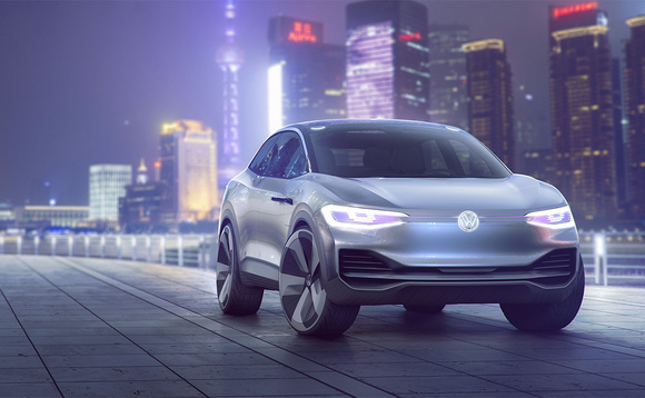 The Volkswagen I.D. Crossover concept (image: VW)