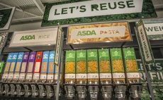 The branch includes 15 refill stations for household staples, such as coffee and shampoo | Credit: Asda