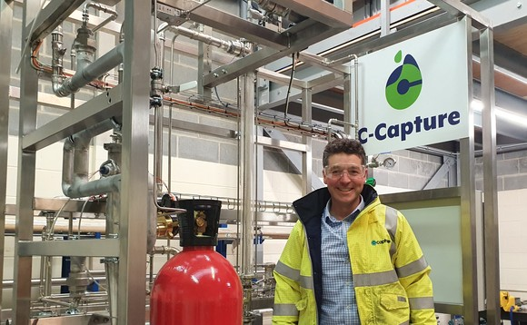 C-Capture was originally spun out from the University of Leeds chemistry department in 2009 | Credit: C-Capture