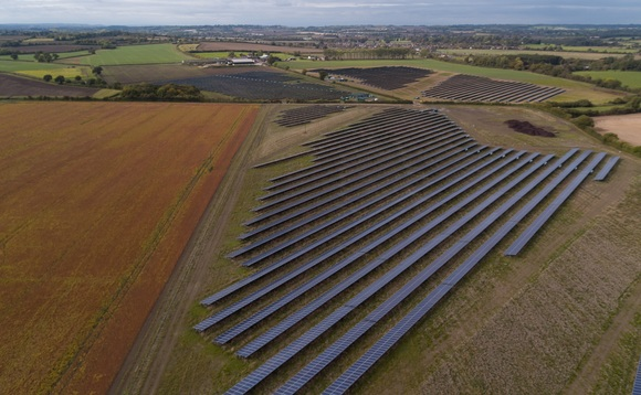 Clayhill solar farm | Credit: Anesco