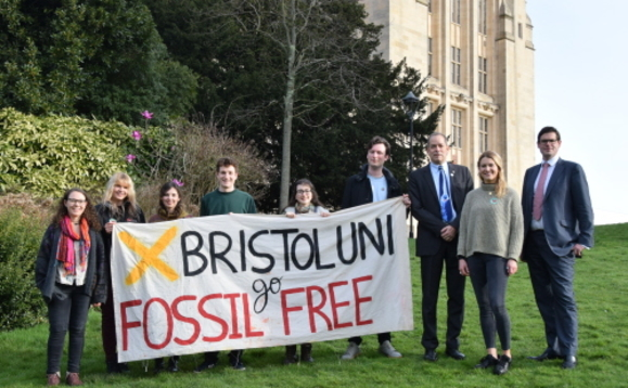 University of Bristol ditches investments in 'most carbon intensive' fossil fuel firms