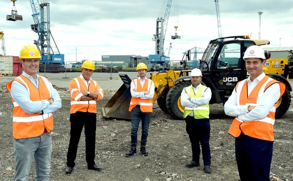 The waste-to-energy project is currently under construction on Teesside | Credit: AV Dawson