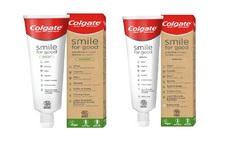 Colgate's new Smile for Good toothpaste tube is made from recyclable materials | Credit: Colgate-Palmolive