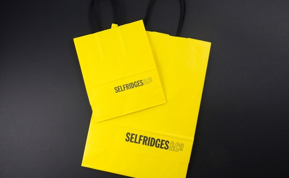 Selfridges shopping bags will soon be made from old cups