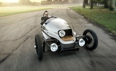 Morgan electric three-wheeler to be sold at Selfridges