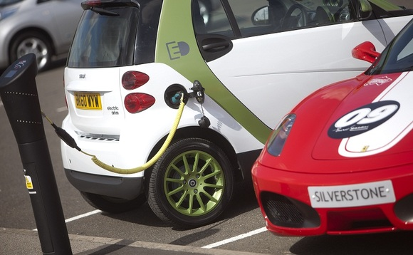 EV charging point use in Scotland doubles