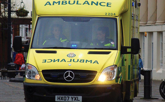 The NHS aims to have a net-zero ambulance on the roads by 2022