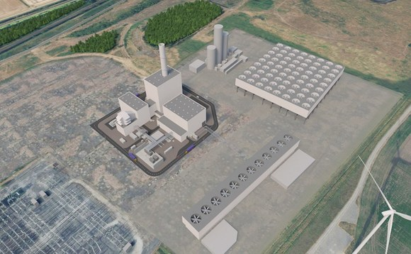 Artist impression of the Keadby 3 CCS-equipped gas power plant in the Humber region | Credit: SSE