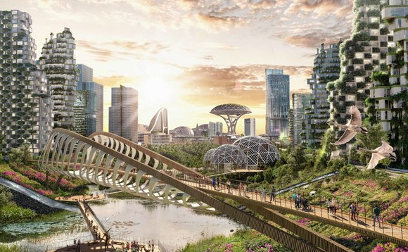Green spaces, community gardens, and nature corridors could be a common feature of future cities | Credit: Ben and Jerry's
