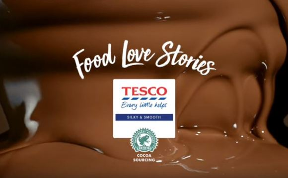 All of Tesco's own-brand chocolate now uses sustainably sourced cocoa