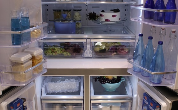 Climate-warming HFCs are commonly used in fridges and freezers