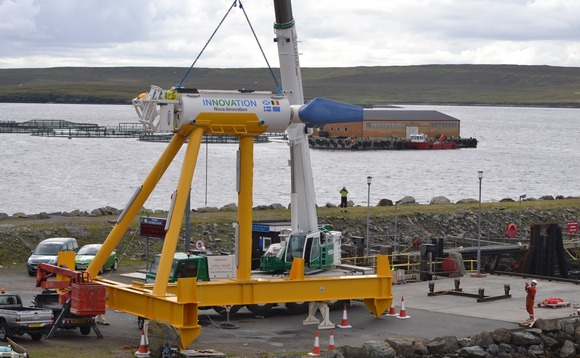 Shetland tidal array delivers first power to the grid